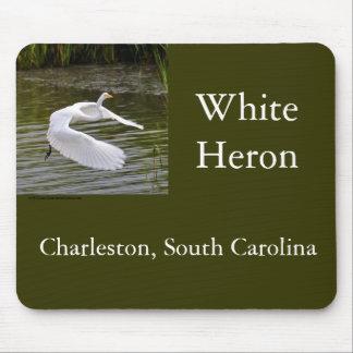 Heron Take-Off Mousepads