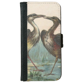 Heron Wallet Phone Case For iPhone 6/6s