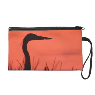 heron wristlet purse