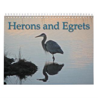 Herons and Egrets Calendar
