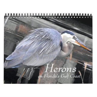 Herons Large and Small Calendar