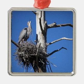Herons Roost Metal Ornament