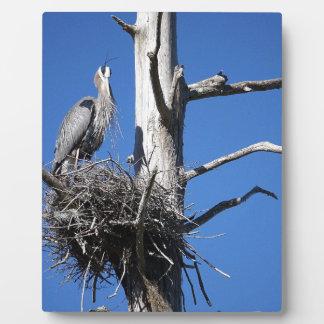 Herons Roost Plaque