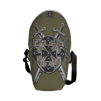 Hero's Coat Of Arms Courier Bag