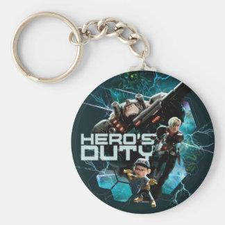 Hero's Duty 1 Keychain