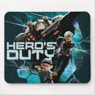 Hero's Duty 1 Mouse Pad