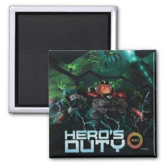 Hero's Duty 2 Inch Square Magnet