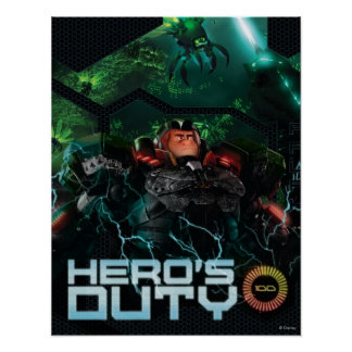 Hero's Duty Poster
