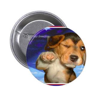 Heros Pinback Button