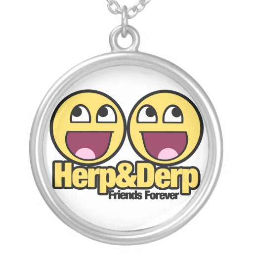 Herp and Derp Necklaces