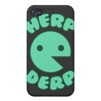 Herp Derp iPhone 4/4S Funda