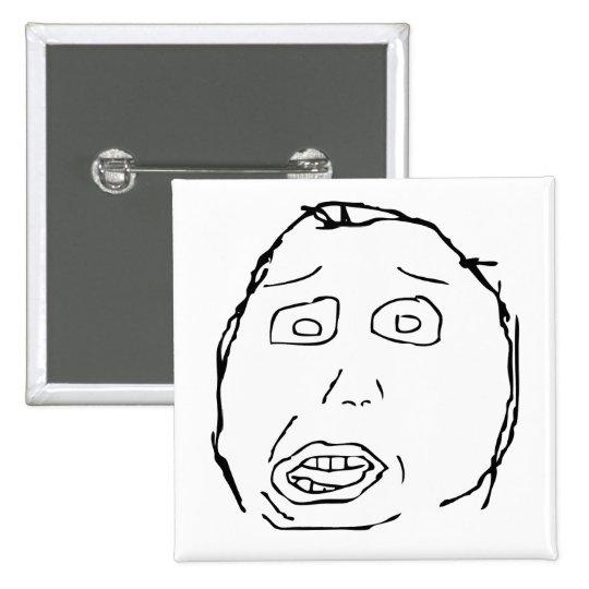 Herp Derp Pin Cuadrado
