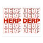 HERP DERP POSTAL