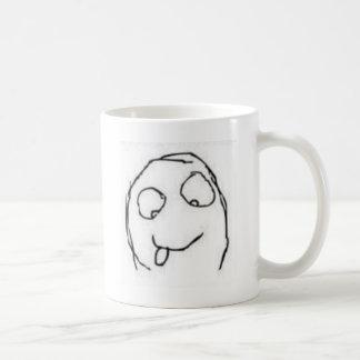Herp Derp Rage Comic Coffee Mugs