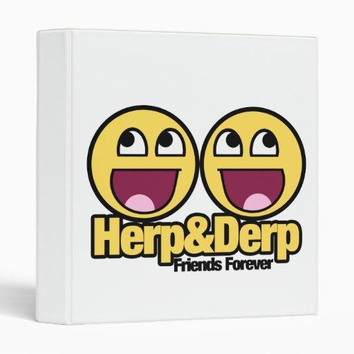 """Herp y Derp sonrientes impresionantes Carpeta 1"""""""