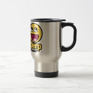 Herp y Derp sonrientes impresionantes Tazas De Café