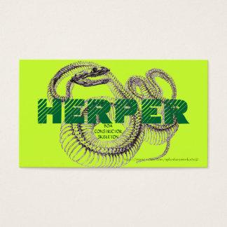 """HERPER"" BUSINESS CARD"