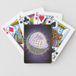 Herpes Virus Structure 2 Bicycle Poker Deck
