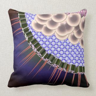 Herpes Virus Throw Pillow