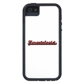 Herpetologist Classic Job Design Case For iPhone 5