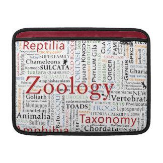Herpetology in Typography MacBook Sleeve