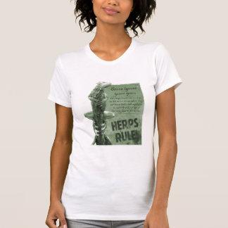 Herps Rule Iguana Ladies T-Shirt