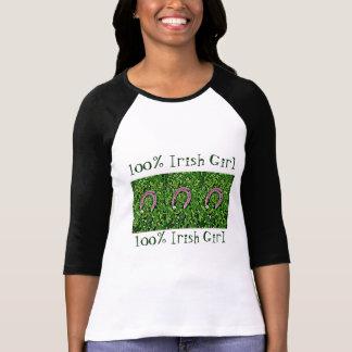 Herradura afortunada irlandesa camisetas