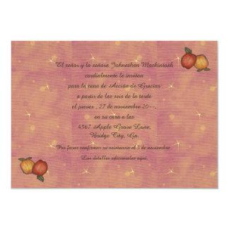 Herradura de Acción de Hacia Abajo Invitación 12,7 X 17,8 Cm
