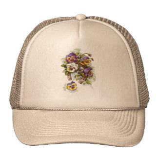 Herradura floral gorros bordados
