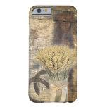 herraduras de madera del trigo del granero rústico funda de iPhone 6 barely there