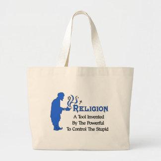 Herramienta de la religión bolsa tela grande