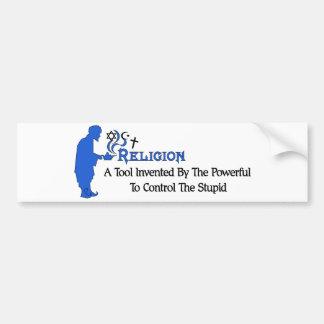 Herramienta de la religión pegatina para auto