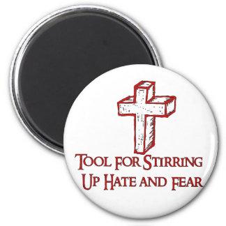 Herramienta del odio imán redondo 5 cm