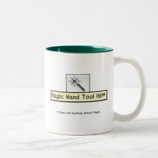 Herramienta mágica de la vara tazas de café