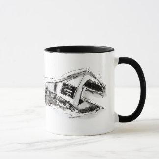 Herramienta torcida taza
