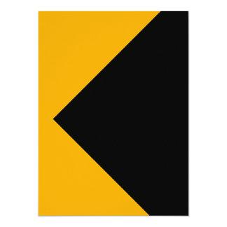 Herramientas amarillas del color de Sun solamente Invitación 13,9 X 19,0 Cm