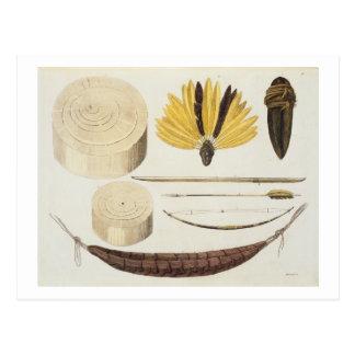 Herramientas, armas y utensilios de Puri y de Postales