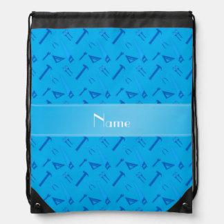 Herramientas conocidas personalizadas del azul de mochilas