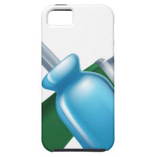 Herramientas cruzadas del martillo y del destornil iPhone 5 Case-Mate protector