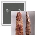 Herramientas de Campigny, 6000-2000 A.C. Pin Cuadrado