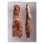 Herramientas de Campigny, 6000-2000 A.C. Tarjeta De Felicitación