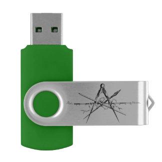 Herramientas de elaboración de la arquitectura pen drive giratorio USB 2.0