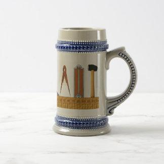 Herramientas de funcionamiento taza de café