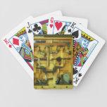 Herramientas de la carpintería baraja cartas de poker