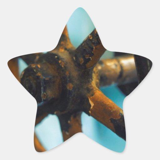 Herramientas de la destilería calcomanías forma de estrella personalizadas