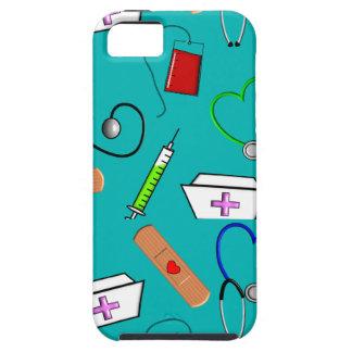 Herramientas de la enfermera funda para iPhone 5 tough