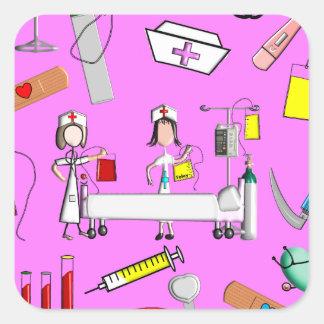 Herramientas de la enfermera y equipo de la enferm