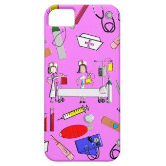 Herramientas de la enfermera y equipo de la iPhone 5 carcasa