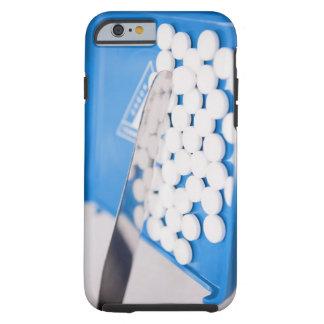 Herramientas de la farmacia, píldoras, medicación funda de iPhone 6 tough