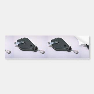 Herramientas de la línea de tiza comercial pegatina de parachoque